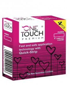 4 stk. One Touch - Passion kondomer